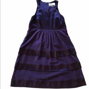 Burberry Purple Silk Sleeveless Dress | SZ 10 EUC